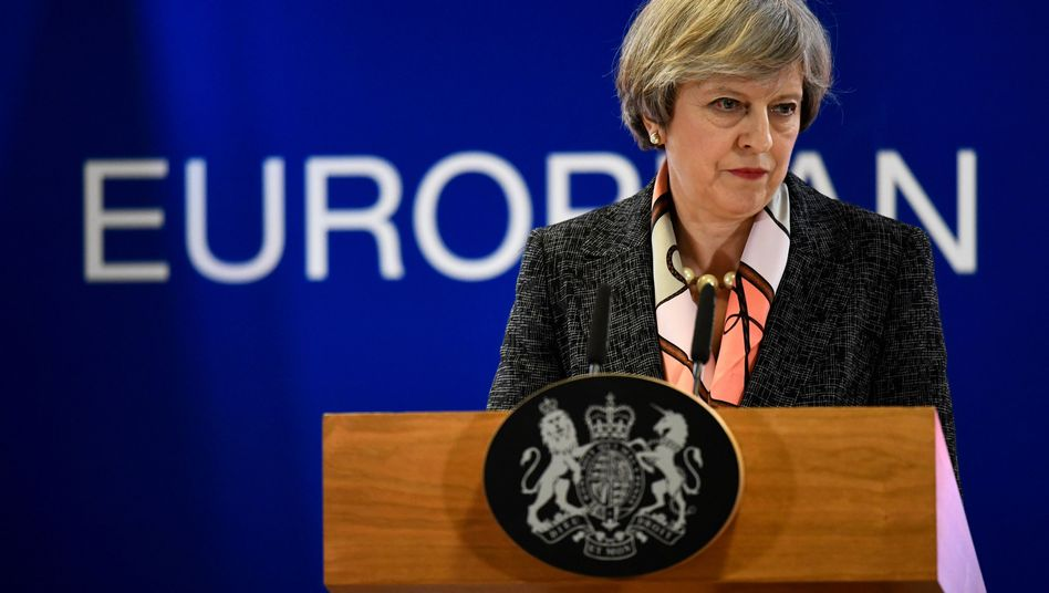 Theresa May: Die britische Premierministerin wird den Brexit am 29. März bei der EU beantragen