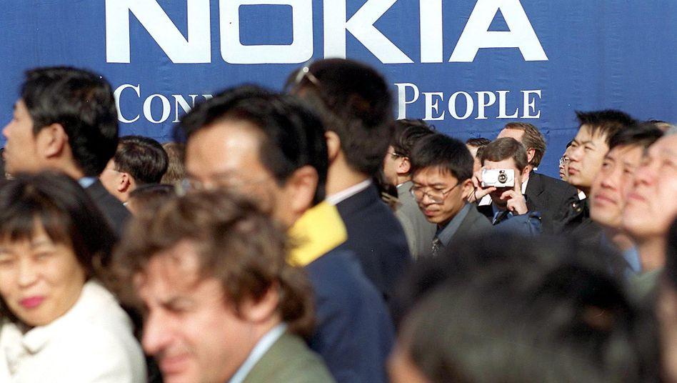Nokia in Peking: Von der Verlagerung nach Asien erhofft sich Nokia eine Produktionszeitverkürzung