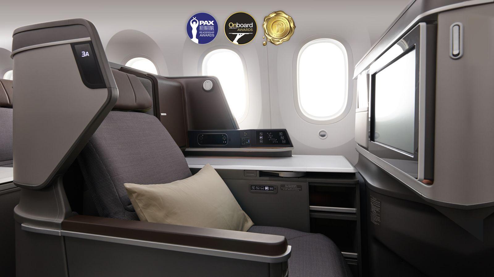 Business Class Flugprodukte / EVA Ait - Royal Global Class