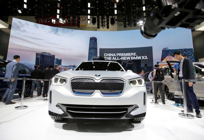 BMW iX3 in Shanghai: Besonders die X-Familie trieb den Absatz