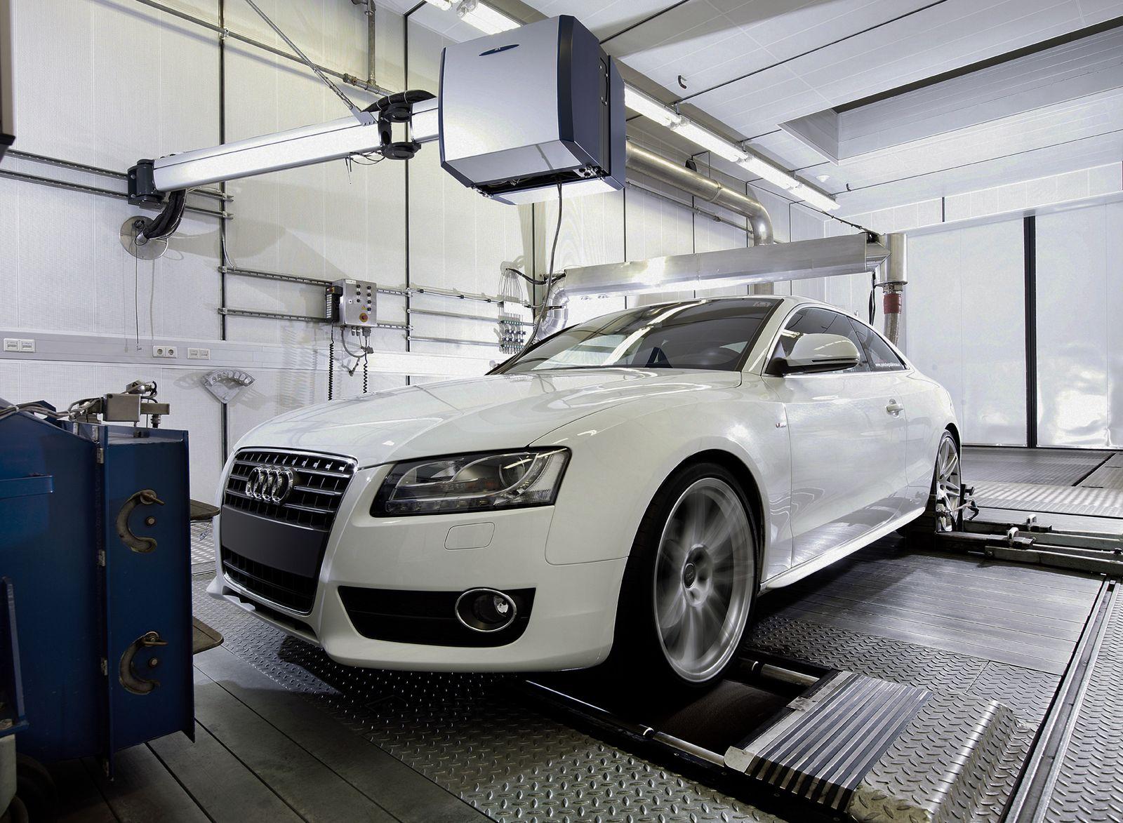 Customer Services / AVL / Motorenoptimierer / Prüfstände