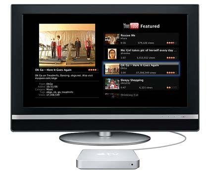 Apple-TV: Die Multimediabox soll mit einem eigenen Display aufgerüstet werden