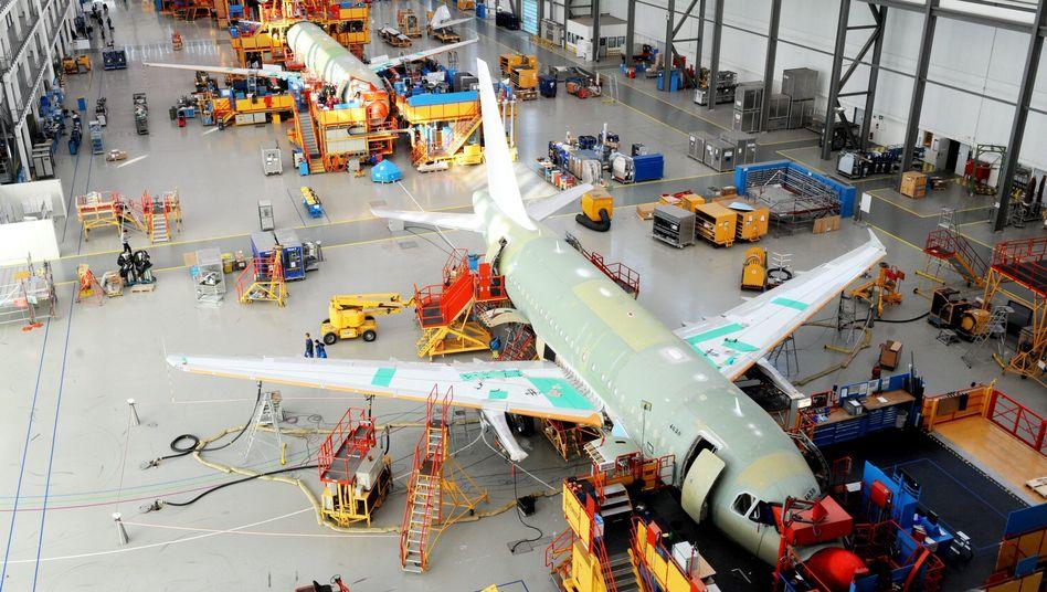 """A320-Produktion in Hamburg: """"Lernen, wie man Flugzeuge baut"""""""