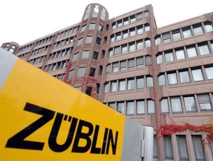 """Vom Strabag-Interesse """"unbeeindruckt"""": Züblin-Zentrale in Stuttgart-Möhringen"""