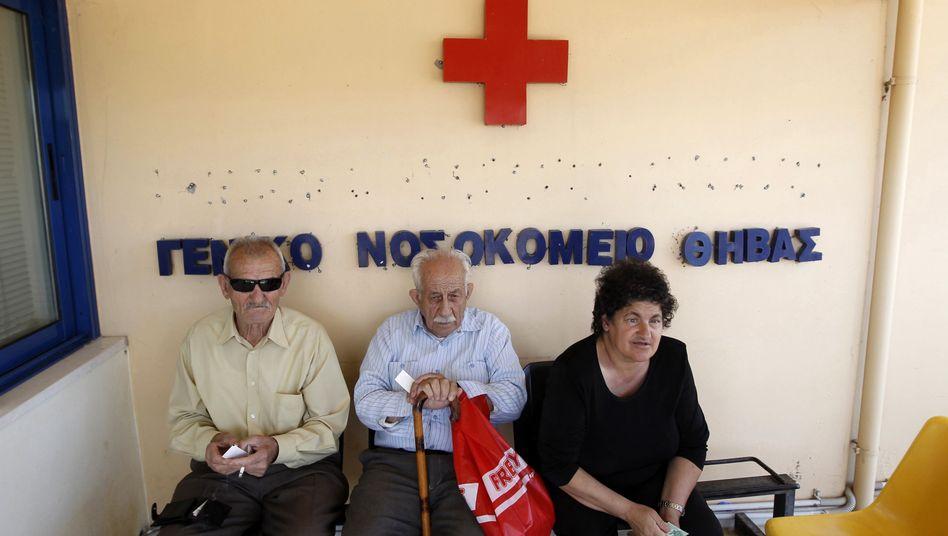 Das griechische Gesundheitssystem ist in einer schweren Krise. Einer der Gründe: Der Staat zahlt seine Rechnungen an Krankenhäuser spät oder gar nicht