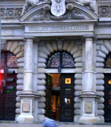 Ort der Verhandlung: Das Landgericht Hamburg