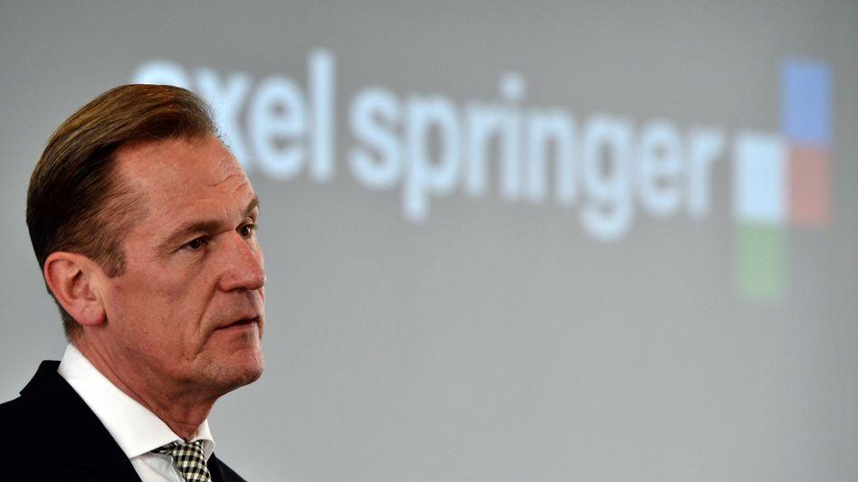 """""""Führen momentan viele Gespräche zu möglichen Investitionen oder Übernahmen"""": Axel-Springer-Chef Mathias Döpfner"""