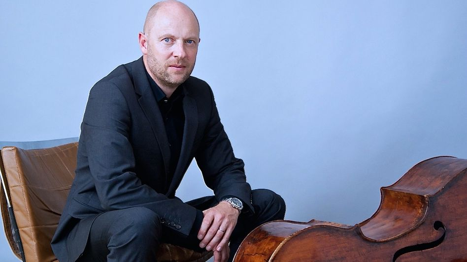 Michael Rieber, Solokontrabassist im NDR Elbphilharmonie Orchester
