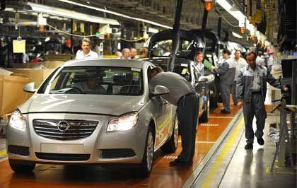 Opel Insignia: Gute Auslastung in deutschen Werken, trotz Krise