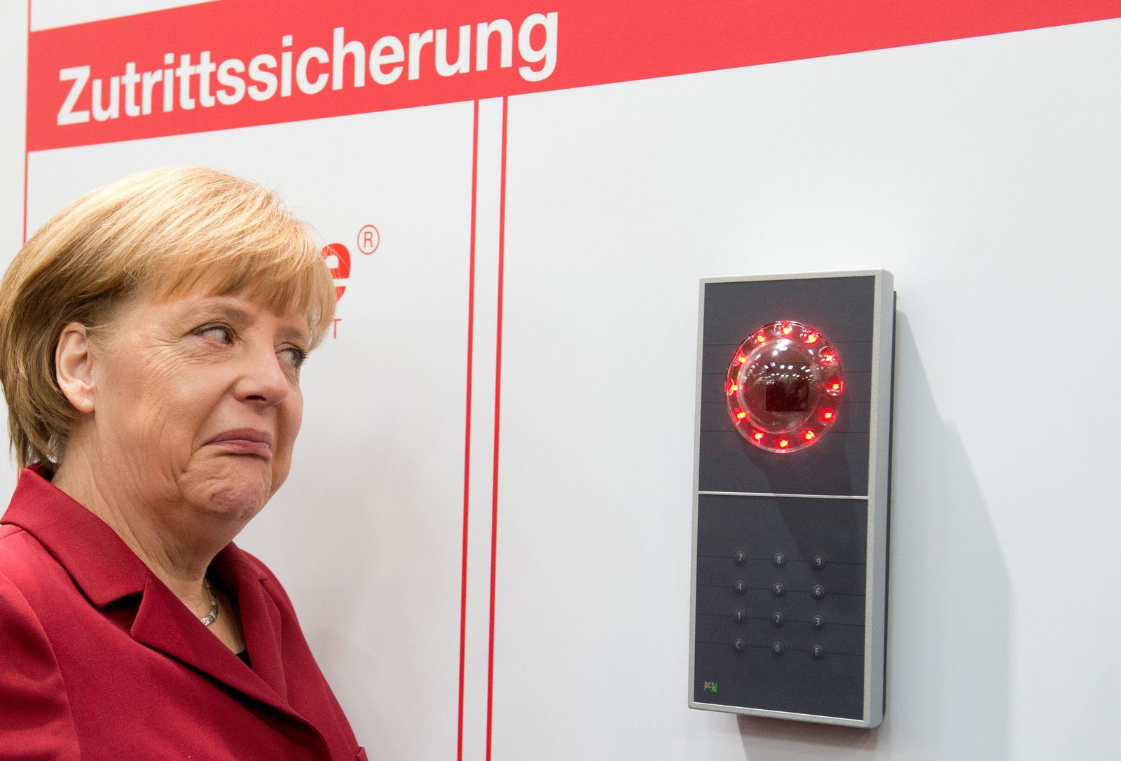 CeBIT 2013 / Merkel