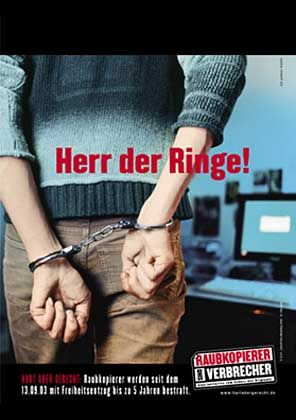 PC-Täter in Handschellen