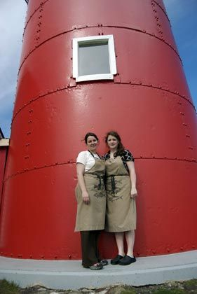 Genießerpause: Das Ferryland Lighthouse lädt zur Rast ein