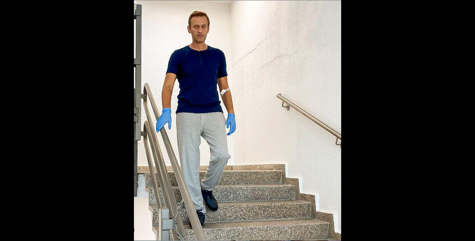 Charité entlässt Kremlkritiker Nawalny