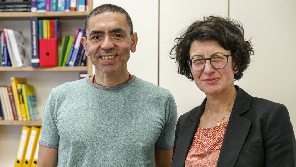 Vorzeigeunternehmer: Die Biontech-Gründer Özlem Türeci und Uğur Şahin dürften vielen Einsteigern in die Selbstständigkeit ein Vorbild sein