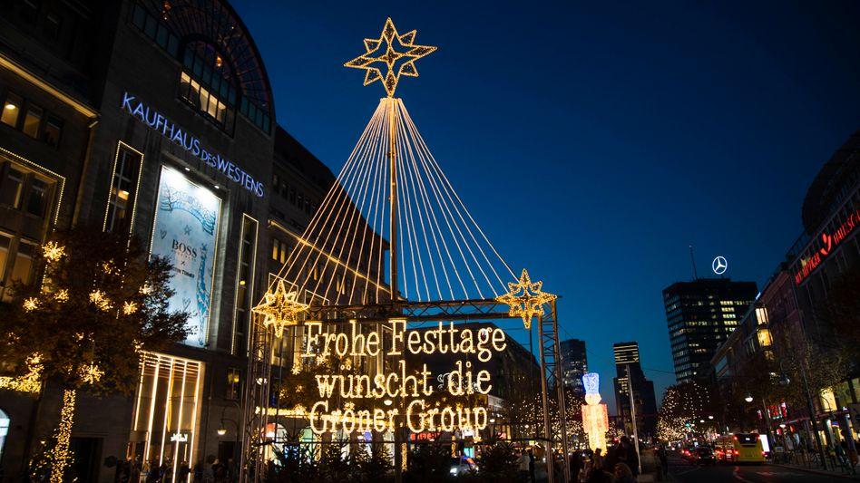 Weihnachtshopping in Berlin: Wann geben die Menschen wieder mehr Geld aus? Es gibt keine Vorbilder - aber Indizien