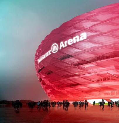 Am Anfang stand die Zeichnung: Entwürfe des neuen Stadions