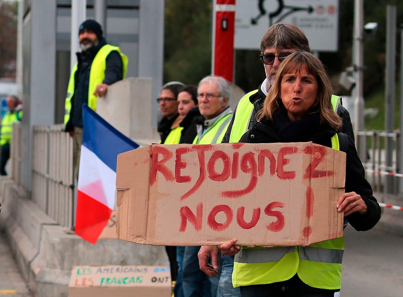 Weitere Proteste in Frankreich