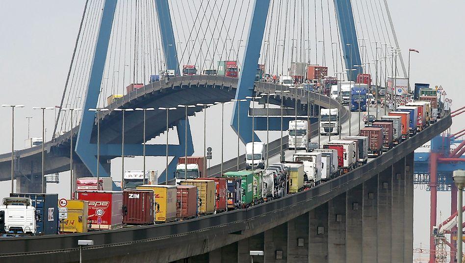 Hamburger Köhlbrandbrücke: Als Ersatz ist ein Tunnel geplant