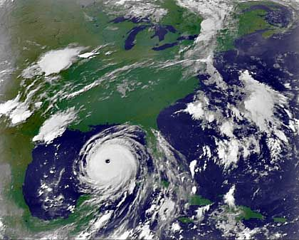 """Auf dem Weg: """"Katrina"""" nähert sich wieder der Küste"""