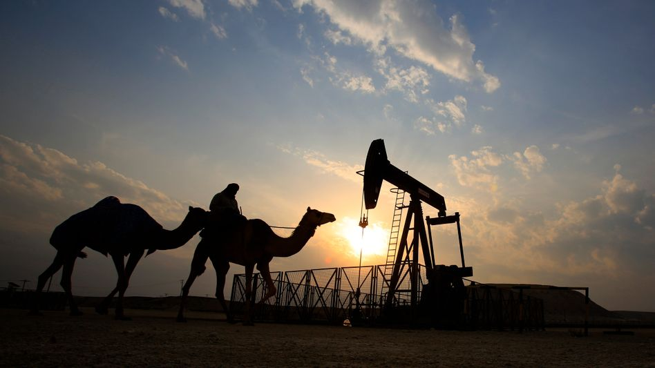 Ölfeld in Bahrain