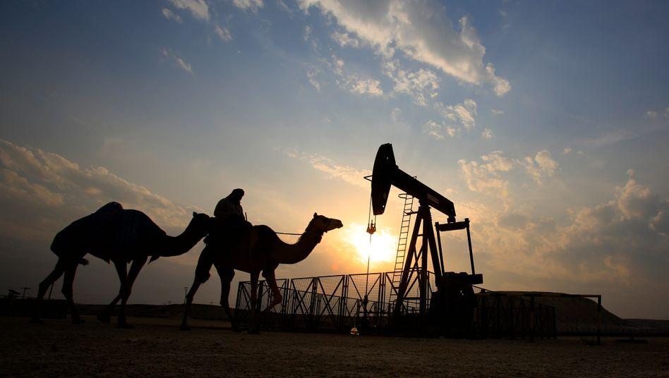 Ölfeld in Bahrain: Die Preise steigen wieder