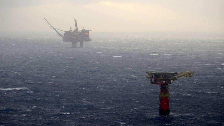 Förderung in der Nordsee: Dank des Ölgeschäfts verfügt Norwegen über den größten Staatsfonds der Welt