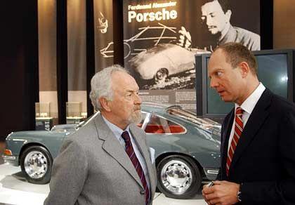 Der Neue: Oliver Porsche (r.) hat seinen Vater F.A. im Aufsichtsrat der Porsche AG abgelöst