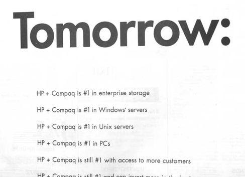 HP-Anzeige: Mit Millionenaufwand wird um die Anleger geworben
