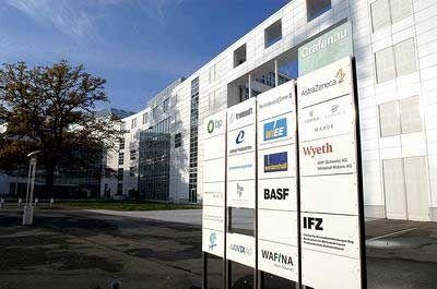 ... die Belegung im Bürokomplex Grafenau, der sowohl Konzerne wie BP und BASF als auch Firmen von Boris Becker und Günter Netzer beherbergt