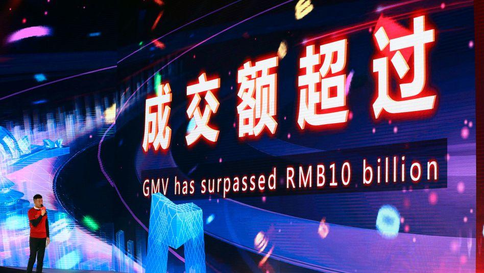 """Der """"Singles' Day"""" ist für Alibaba in der Regel ein echter Umsatztreiber."""