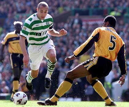 Hendrik Larsson: Bei Celtic Glasgow zum Stürmer gereift