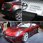 Die Zukunft hat begonnen:Die Auswahl an Fahrzeugen mit Hybridantrieb wird immer größer