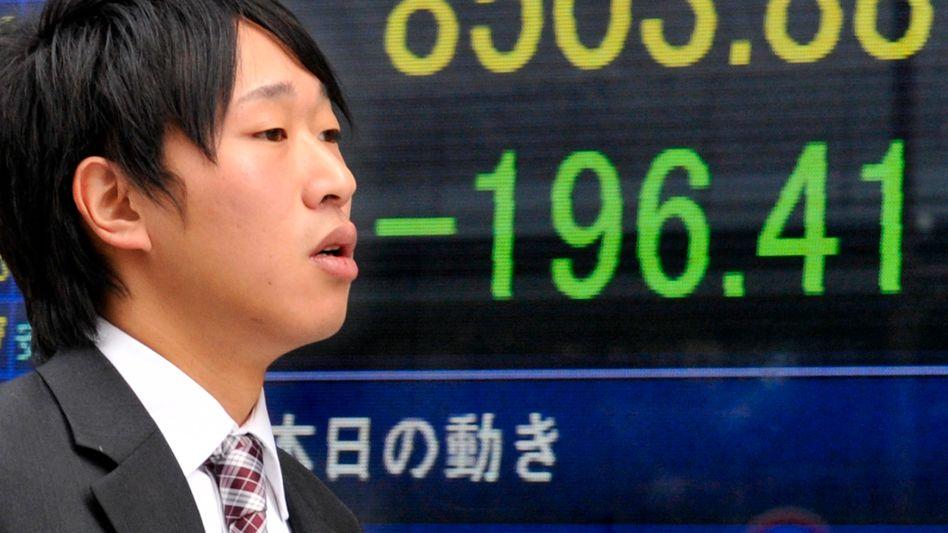 Kursverluste nicht nur in Japan: Neue Hiobsbotschaften aus Griechenland beunruhigten die Investoren am Montag weltweit