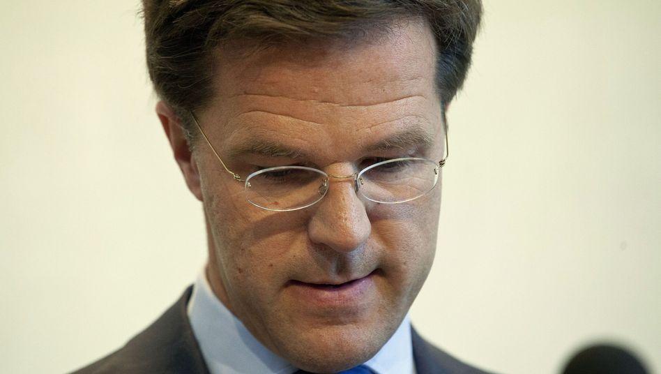 Rücktritt: Ministerpräsident Mark Rutte macht den Weg für Neuwahlen in Holland frei