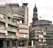 """Bekenntnis zur """"Financial Times Deutschland"""": Gruner + Jahr Verlagsgebäude in Hamburg"""