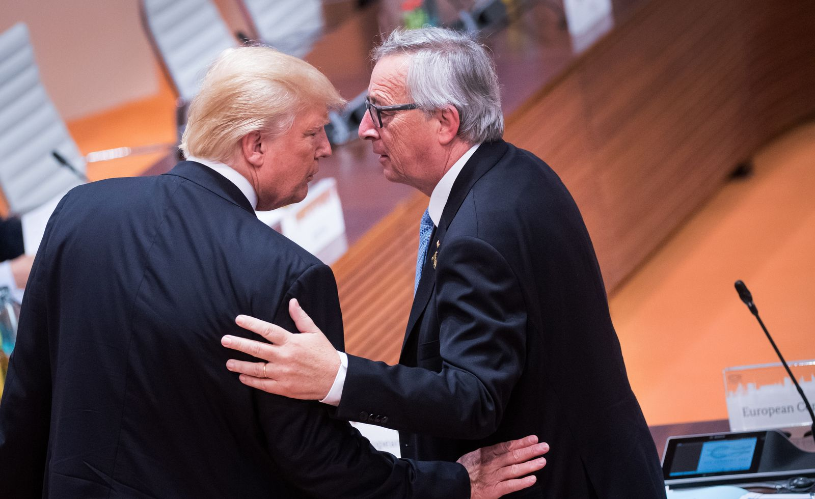 Trump Juncker