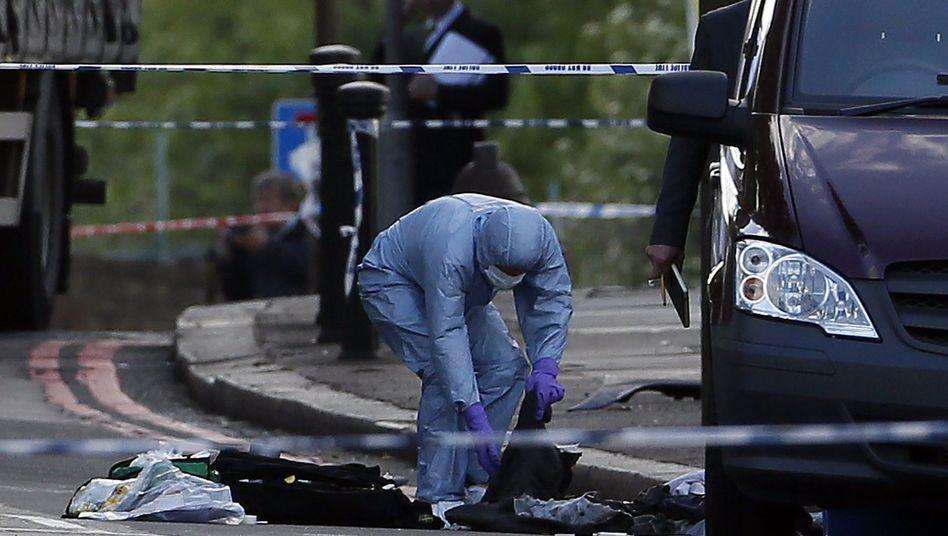 """Attentat in Woolwich, im Südosten Londons: """"Ihr werdet niemals sicher sein"""""""