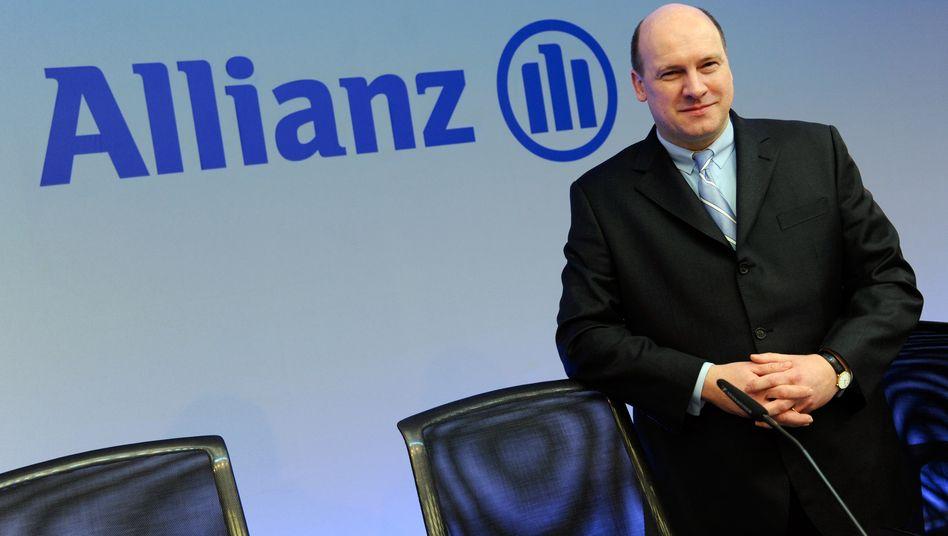 Lächelt demnächst für den Konkurrenten Ergo: Markus Rieß, ehedem Chef der Allianz Deutschland.