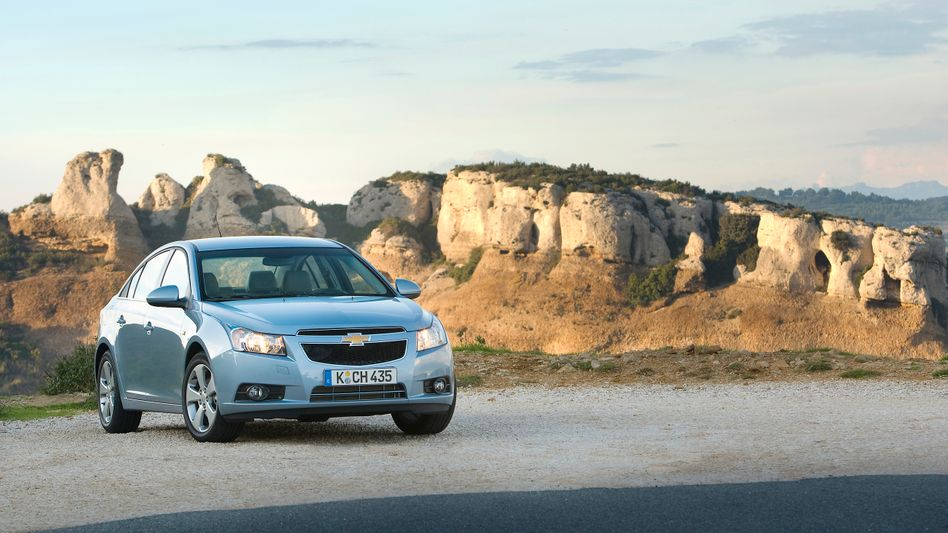 Chevrolet Cruze Kombi: Die Verwandtschaft zum Opel Astra ist kaum zu übersehen