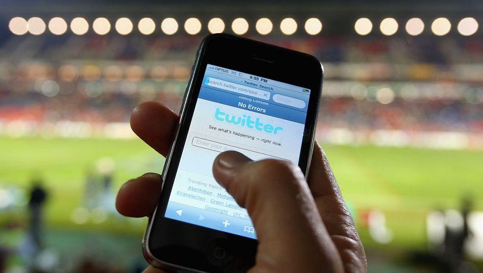 Tweets sind angesagt: Doch mit allzuviel Werbung will Twitter die Kunden nicht belästigen