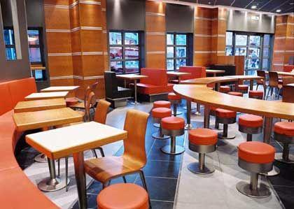"""Neues Innendesign für McDonald's Deutschland: Variante """"NewWorld"""""""