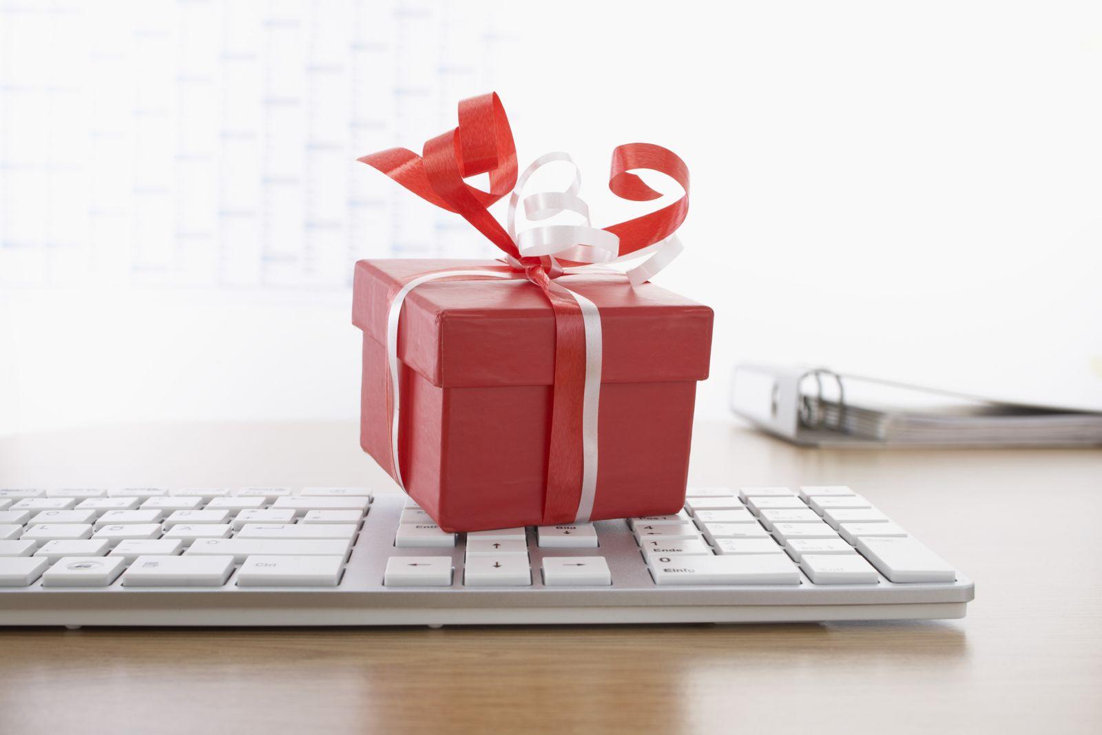 NICHT MEHR VERWENDEN! - Geschenk / Tastatur / Verpackung / Büro (Kopie)