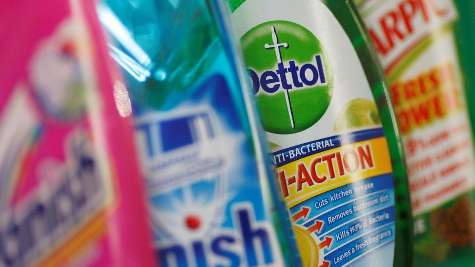 Produkte von Reckitt Benckiser: Pflegeprodukte wie Scholl und Clearasil gehören nicht mehr zum Kerngeschäft