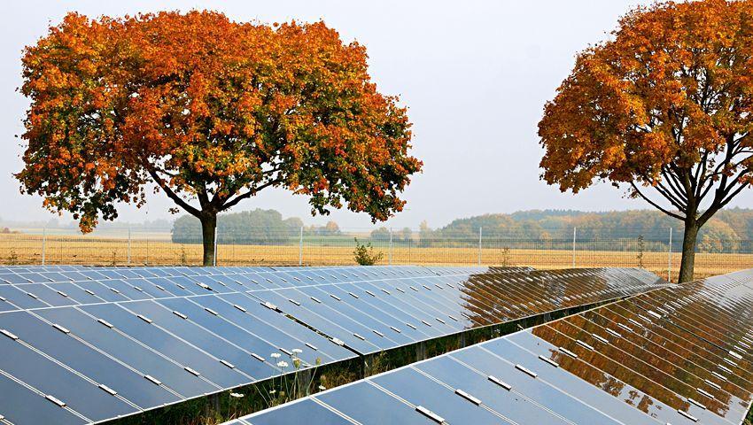 Solarpark in Gebersdorf (Bayern): Solaranlage neu installiert