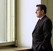 Bundeskanzler Gerhard Schröder