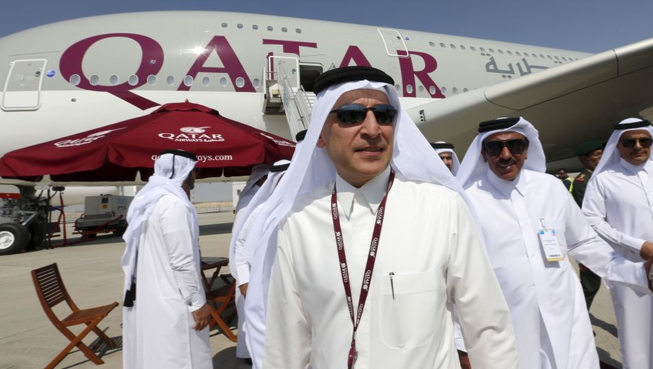 Qatar-Airways-Chef Akbar Al Baker