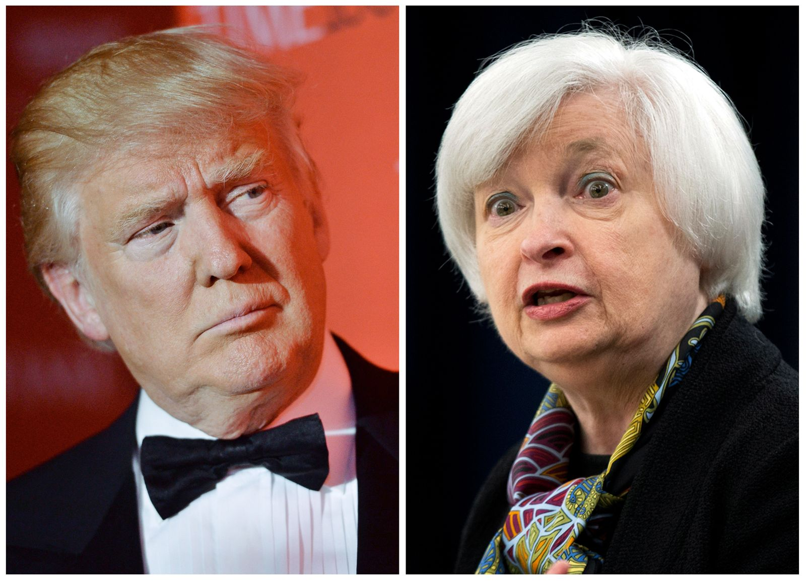 Donald Trump/ Janet Yellen