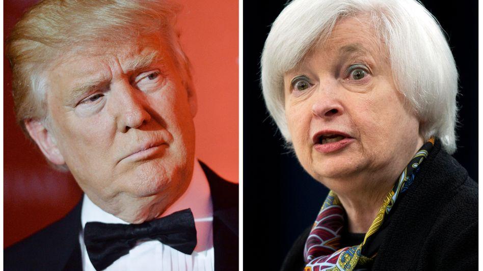 Trump, Yellen: Endlich mal ein Konjunkturprogramm - doch das könnte auch die Inflation wecken