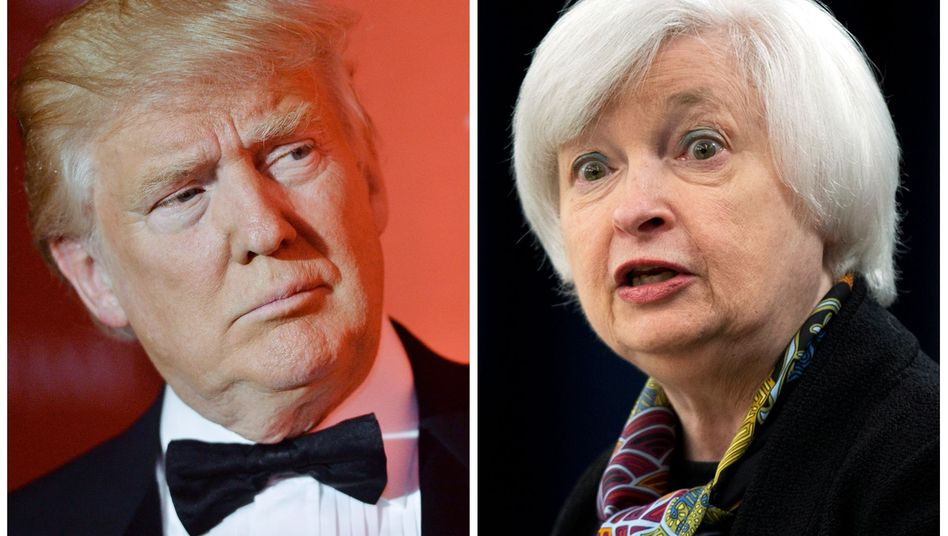 Donald Trump, Janet Yellen