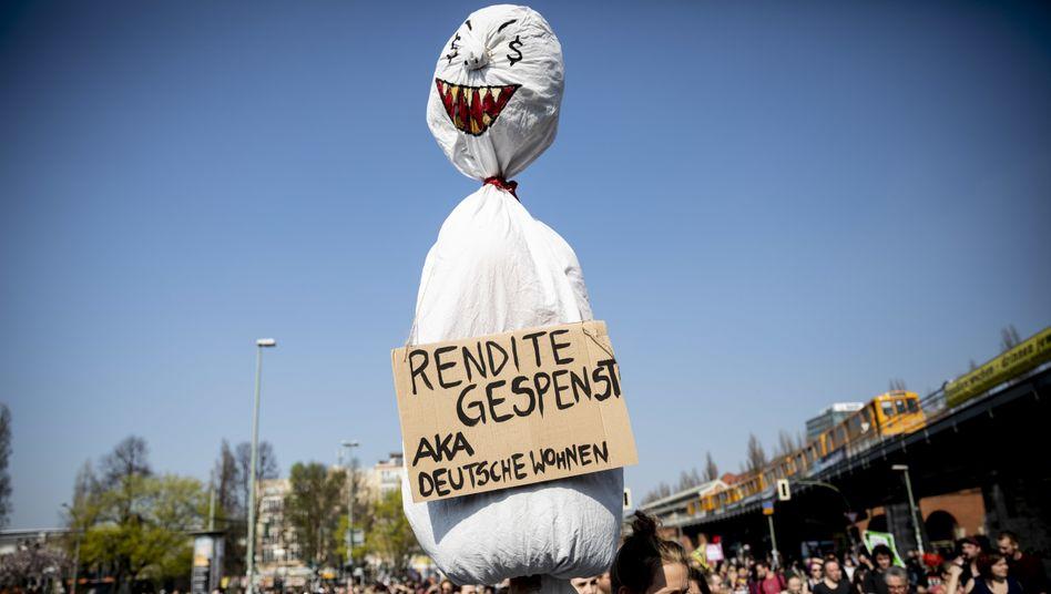 Demo gegen #Mietenwahnsinn: Linke Verirrungen